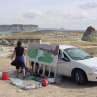 Michelle-Auboiron-Colorado-peintures-Ouest-americain-Utah-Nevada-Arizona-Californie-2001--18 thumbnail