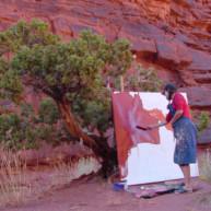 Michelle-Auboiron-Colorado-peintures-Ouest-americain-Utah-Nevada-Arizona-Californie-2001--22 thumbnail