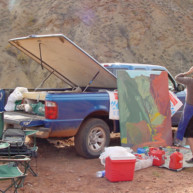Michelle-Auboiron-Colorado-peintures-Ouest-americain-Utah-Nevada-Arizona-Californie-2001--26 thumbnail