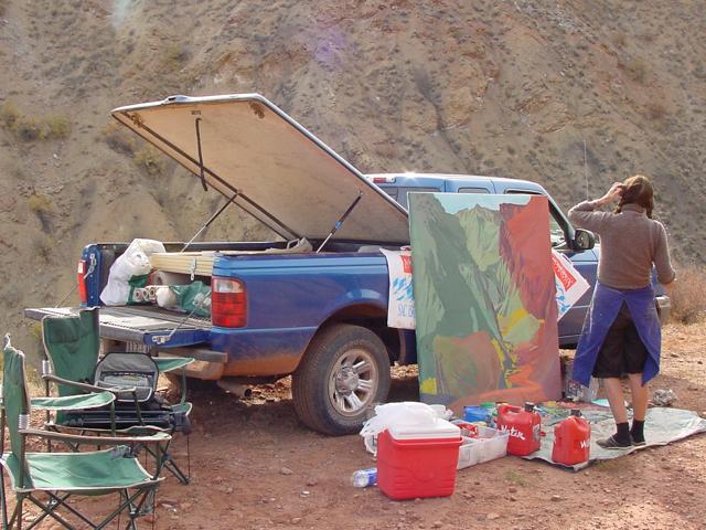 Onion Creek - Moab - Utah - Photo : Charles GUY - 2001