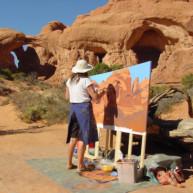 Michelle-Auboiron-Colorado-peintures-Ouest-americain-Utah-Nevada-Arizona-Californie-2001--27 thumbnail