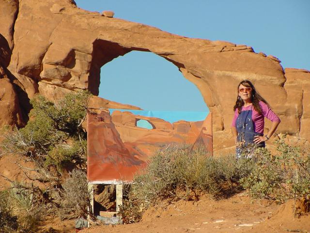 Skyline Arch - Arches National Park - Moab - Utah - Photo : Charles GUY - 2001
