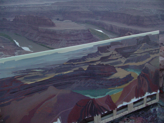 Dead Horse Point - Moab - Utah - Photo : Charles GUY - 2001