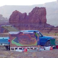 Michelle-Auboiron-Colorado-peintures-Ouest-americain-Utah-Nevada-Arizona-Californie-2001--36 thumbnail