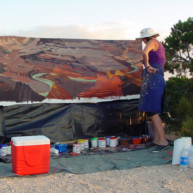 Michelle-Auboiron-Colorado-peintures-Ouest-americain-Utah-Nevada-Arizona-Californie-2001--4 thumbnail