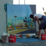 Michelle-Auboiron-Motels-of-the-50-s-peinture-live-a-Las-Vegas-24 thumbnail