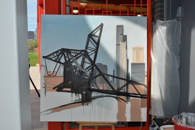 04-Saint-Charles-Air-Line-Bridge-Chicago-painting-Michelle-Auboiron-4