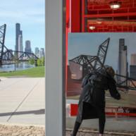 07-Saint-Charles-Air-Line-Bridge-Chicago-painting-Michelle-Auboiron-7 thumbnail