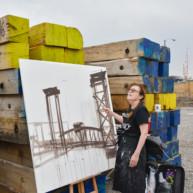 Peinture-ponts-de-chicago-Michelle-Auboiron--2 thumbnail