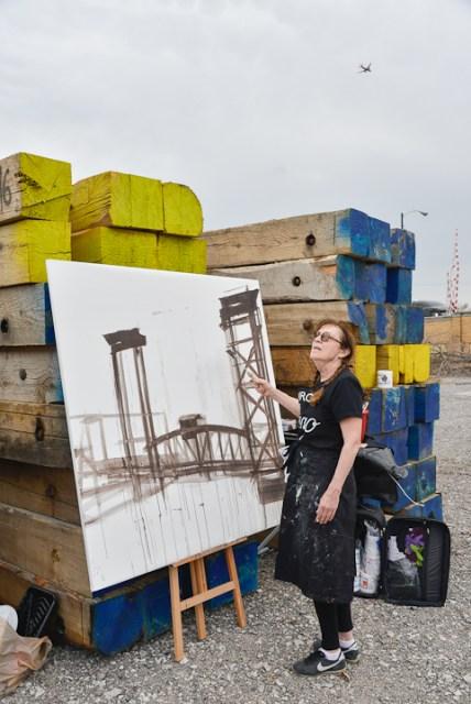 Peinture-ponts-de-chicago-Michelle-Auboiron--2