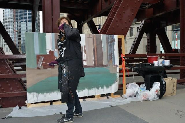 Wells-Street-Bridge-painting-by-Michelle-Auboiron-7