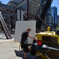Kinzie-strett-Bridge-Chicago-painting-by-Michelle-Auboiron-2 thumbnail
