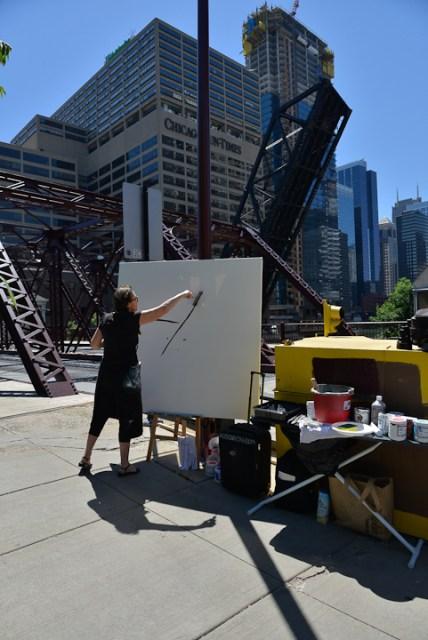 Kinzie-strett-Bridge-Chicago-painting-by-Michelle-Auboiron-4