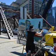 Kinzie-strett-Bridge-Chicago-painting-by-Michelle-Auboiron-5 thumbnail