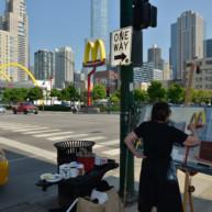 Mac-Donald-s-Chicago-Clark-Ontario-Peinture-Painting-by-Michelle-Auboiron-5 thumbnail