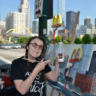 Mac-Donald-s-Chicago-Clark-Ontario-Peinture-Painting-by-Michelle-Auboiron-7 thumbnail