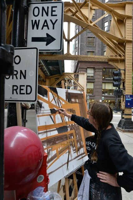 Van-Buren-Dearborn-Chicago-Paining-by-Michelle-Auboiron-9