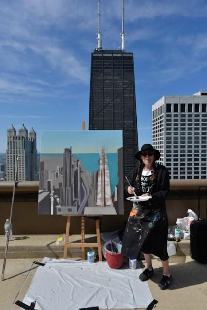 Peintures-live-de-Chicago-par-Michelle-AUBOIRON-33