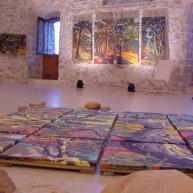 exposition-peintures-de-corse-par-michelle-auboiron-bastion-de-france-porto-vecchio-11 thumbnail