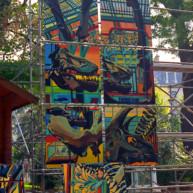 le-diplonosaure-peinture-monumentale-de-michelle-auboiron-1 thumbnail