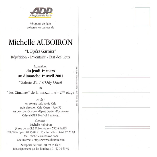 Carton-Invitation-expo-OPERA-Peintures-de-Michelle-AUBOIRON-ADG-Galerie-Orly-ouest-2000-verso
