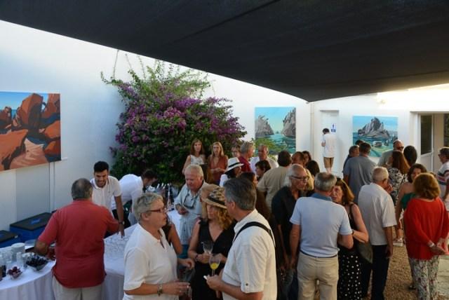 Exposition-Peintures-de-Corse-de Michelle-Auboiron-Barnes-Porto-Vecchio-2017-9