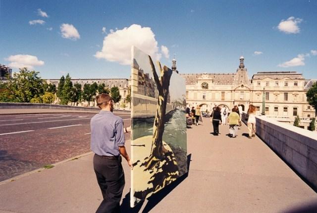 Vernissage-Exposition-Les-Ponts-de-Paris-peintures-de-Michelle-Auboiron-avec-la-galerie-Verneuil-Saints-Peres-Paris-quai-du-Louvre-10