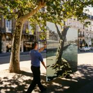 Vernissage-Exposition-Les-Ponts-de-Paris-peintures-de-Michelle-Auboiron-avec-la-galerie-Verneuil-Saints-Peres-Paris-quai-du-Louvre-12 thumbnail