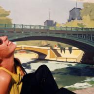 Vernissage-Exposition-Les-Ponts-de-Paris-peintures-de-Michelle-Auboiron-avec-la-galerie-Verneuil-Saints-Peres-Paris-quai-du-Louvre-9 thumbnail