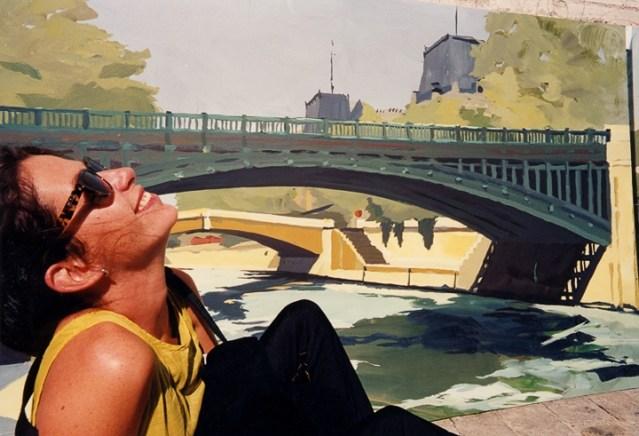Vernissage-Exposition-Les-Ponts-de-Paris-peintures-de-Michelle-Auboiron-avec-la-galerie-Verneuil-Saints-Peres-Paris-quai-du-Louvre-9