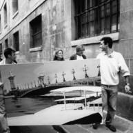 Vernissage-Exposition-Les-Ponts-de-Paris-peintures-de-Michelle-Auboiron-retour-en-fanfare-a-la-galerie-Verneuil-Saints-Peres-Paris-3 thumbnail
