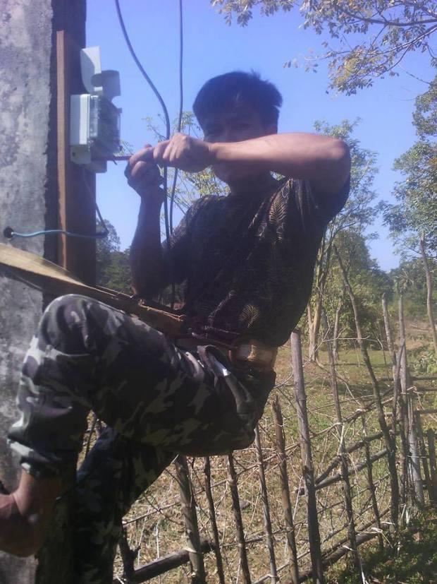 Electricien ELRE Laos Ecole
