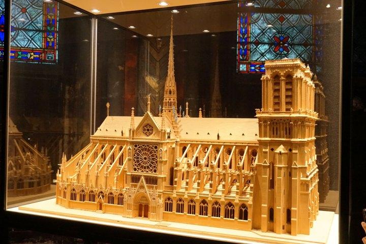 maquette cathédrale paris notre dame
