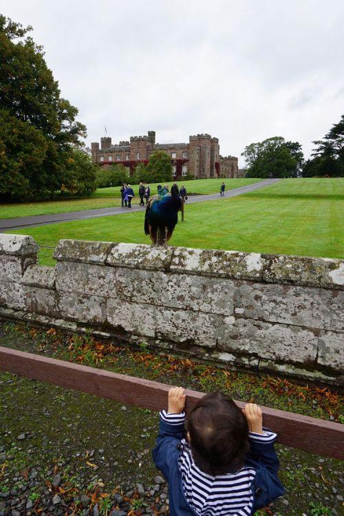 scone palace palais perth Ecosse paons enfants en famille road trip tourisme