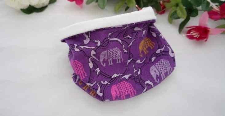 snood bébé couture fait main création