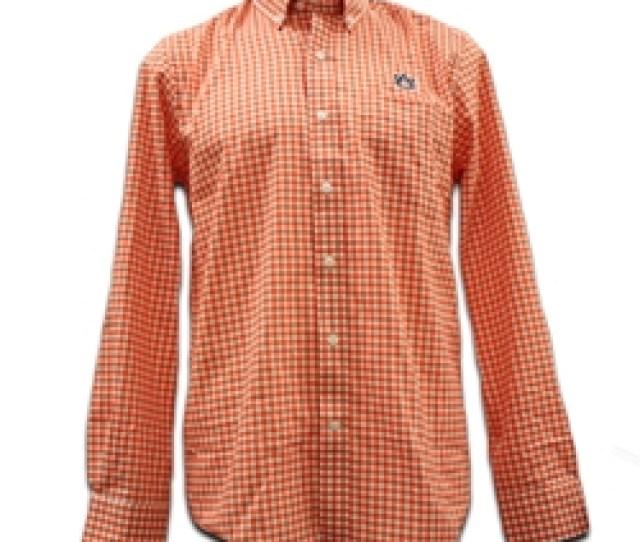 Cutter Buck Mens Gingham Dress Shirt