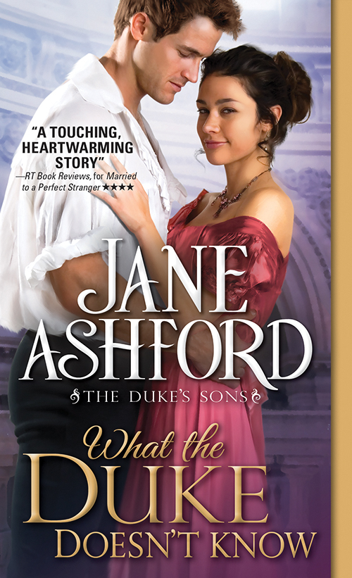 What The Duke Doesn't Know By Jane Ashford @SourcebooksCasa