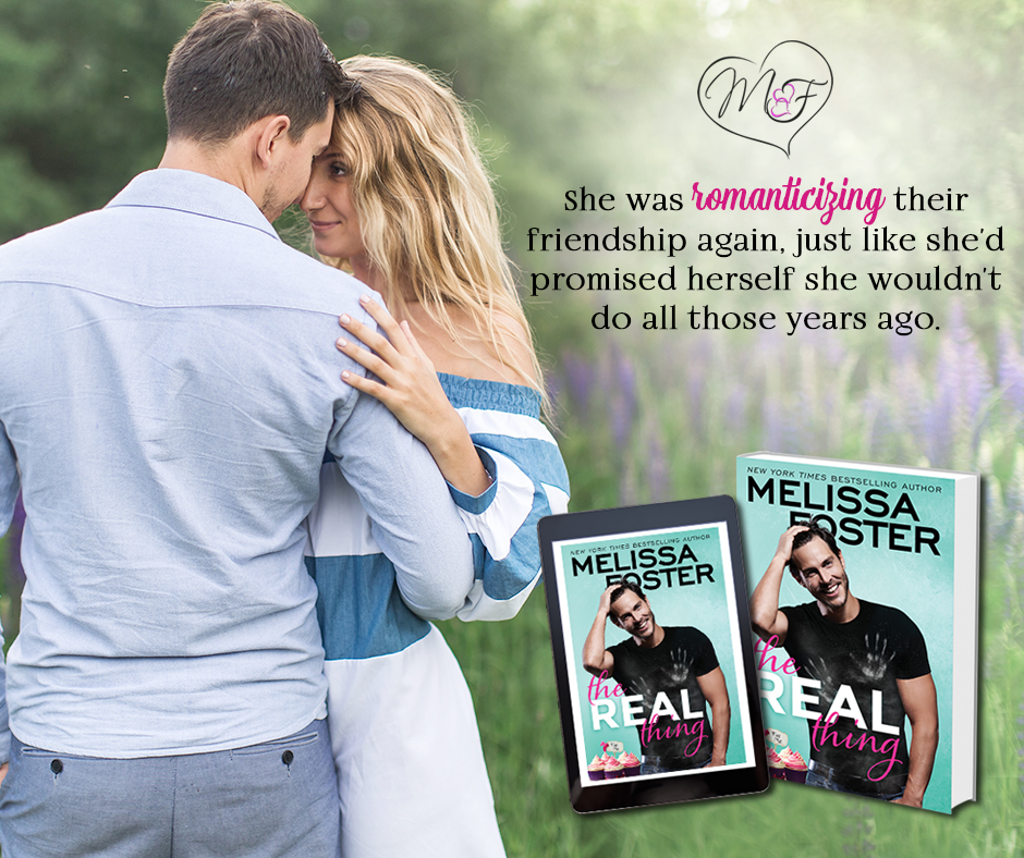 THE REAL THING By Melissa Foster W/ Giveaway @TastyBookTours @Melissa_Foster
