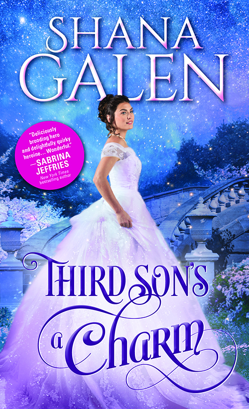 Third Son's A Charm By Shana Galen Spotlight Tour + Giveaway @SourcebooksCasa