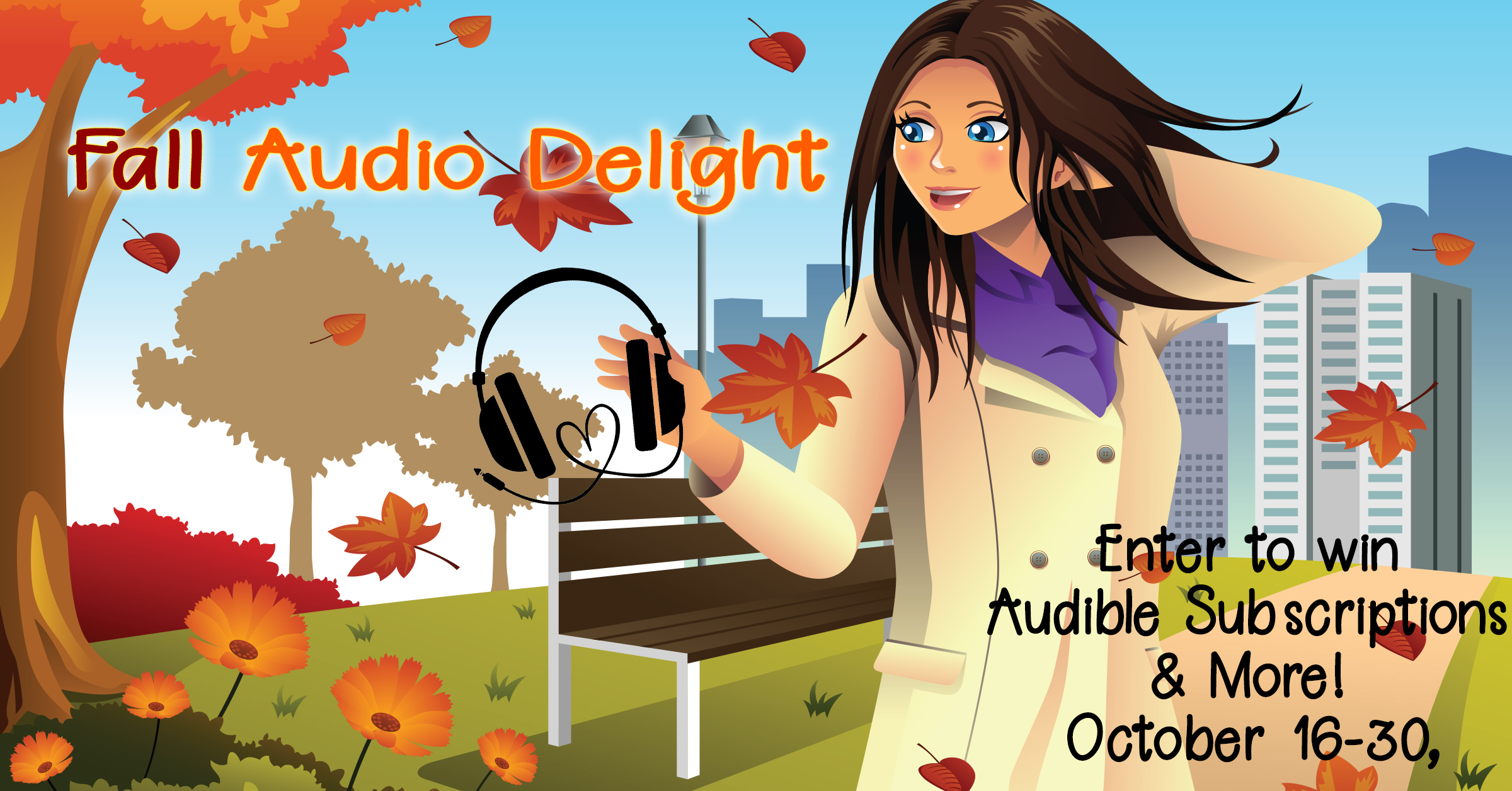 Enter The Fall #AudioDelight Giveaway! @Reads2Love