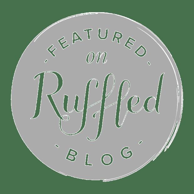 ruffled blog featured button