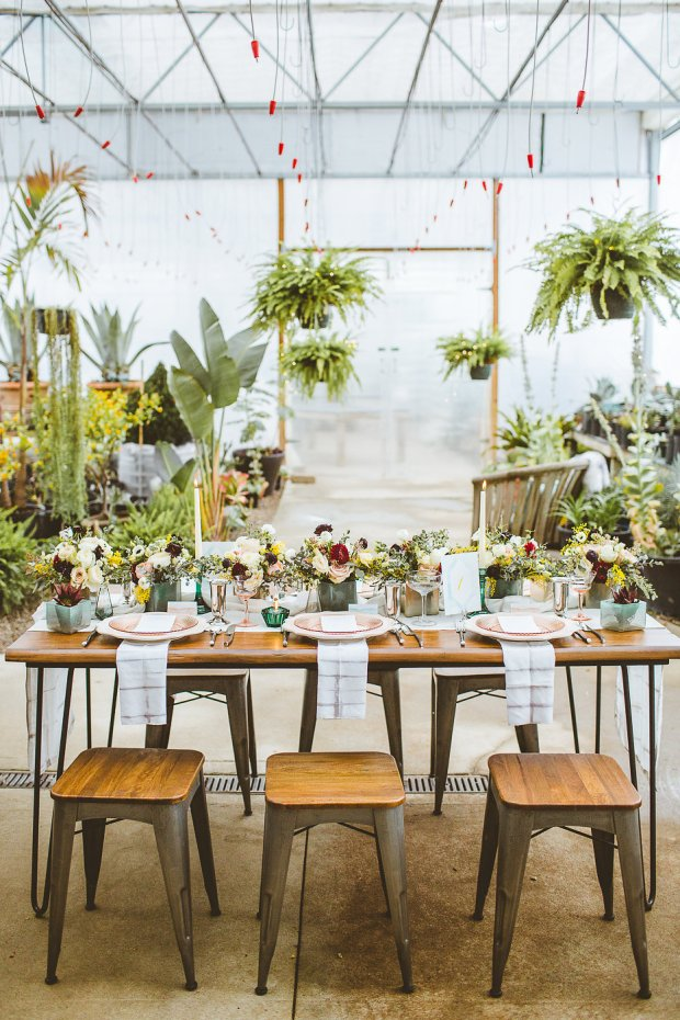 greenhouse wedding inspiration, greenhouse wedding, columbus ohio wedding