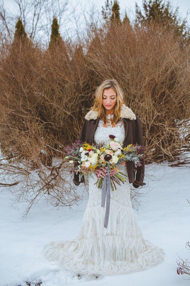 winter wedding style, winter wedding ohio, winter wedding flowers