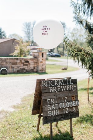 Rockmill Brewery Summer Wedding