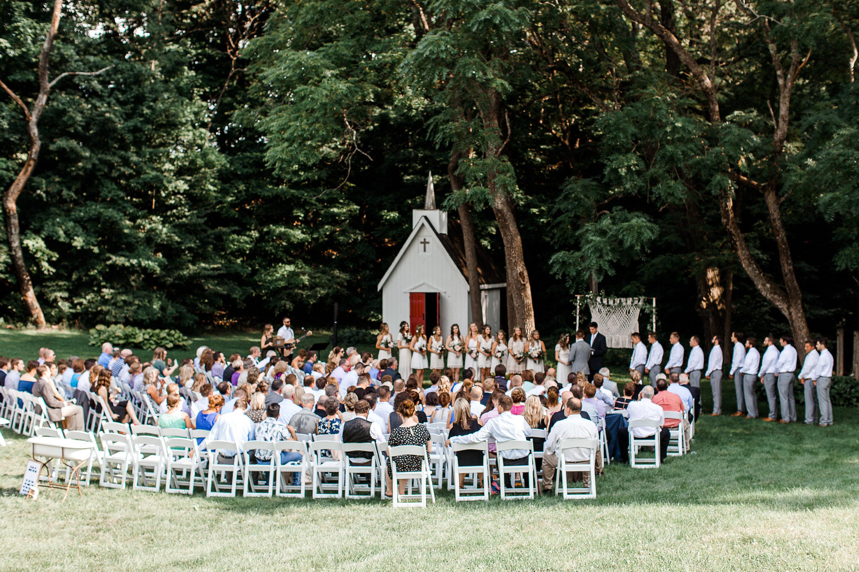 wedding at Rockmill Brewery