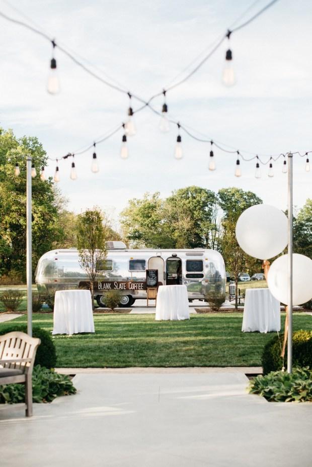 Coffee Airstream Oak Grove Wedding