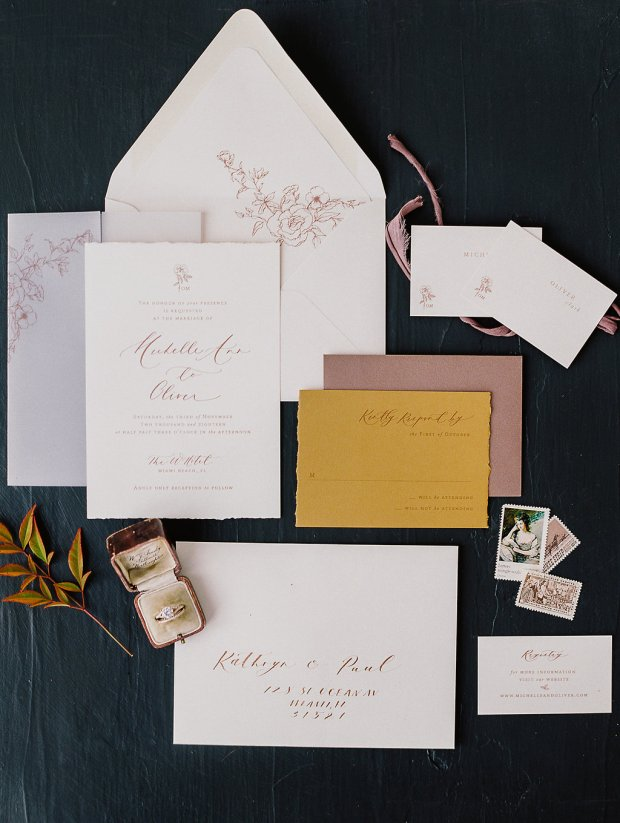 Papel & Co invitation suite