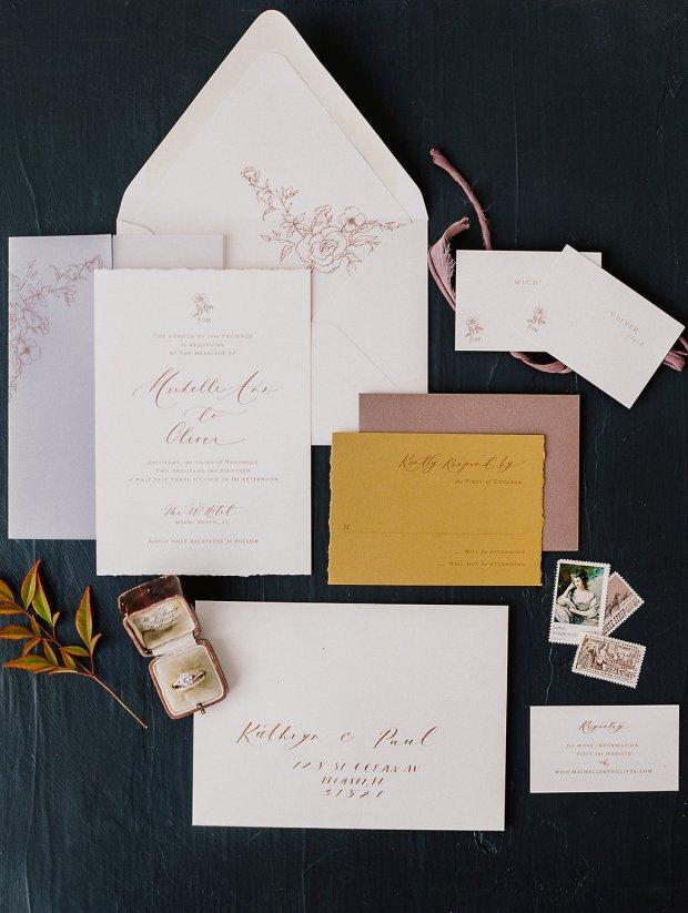 Papel & Co invitation suite