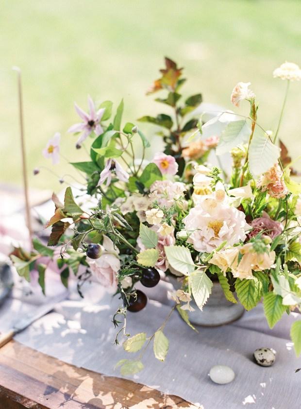 Fine art florals, painting inspired wedding design, painting inspired florals