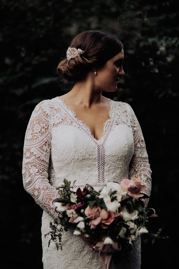 southern inspired bridal looks